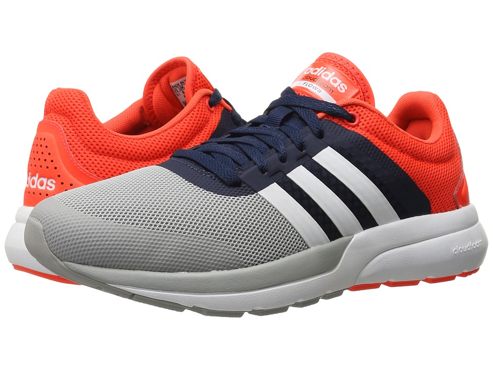 adidas Cloudfoam Flow 2.0 (Collegiate Navy/White) Men