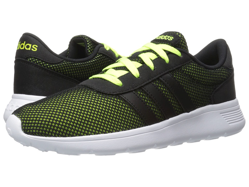 adidas - Lite Racer (Black/Solar Yellow) Men's Shoes