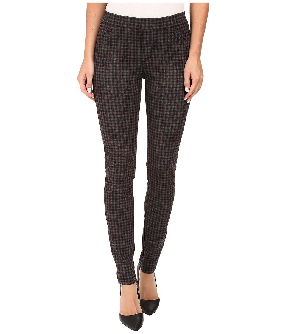 Sanctuary - Grease Leggings (Brick Harper Plaid) Women's Casual Pants
