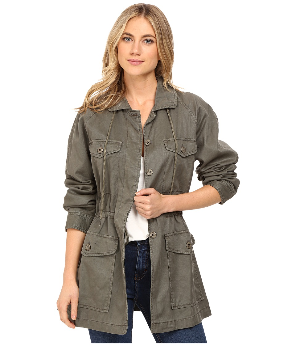 Sanctuary - Tash Parka Jacket (Military) Women's Coat