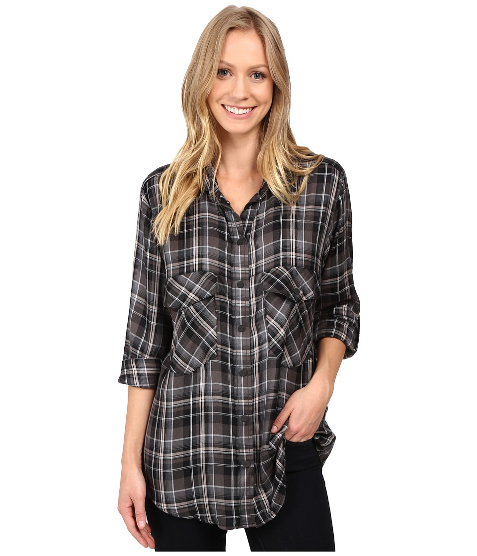 Sanctuary - Boyfriend Shirt (Alexandre Plaid) Women's Clothing