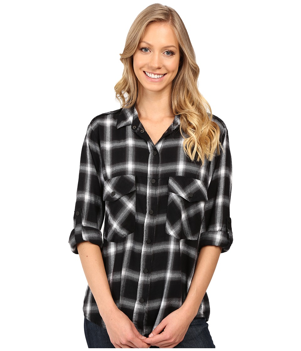 Sanctuary - Boyfriend Shirt (Etienne Plaid) Women's Clothing