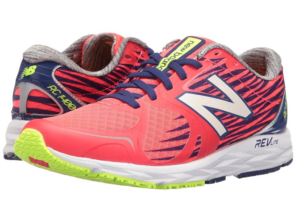 New Balance - W1400v4 (Pink/White) Women's Running Shoes