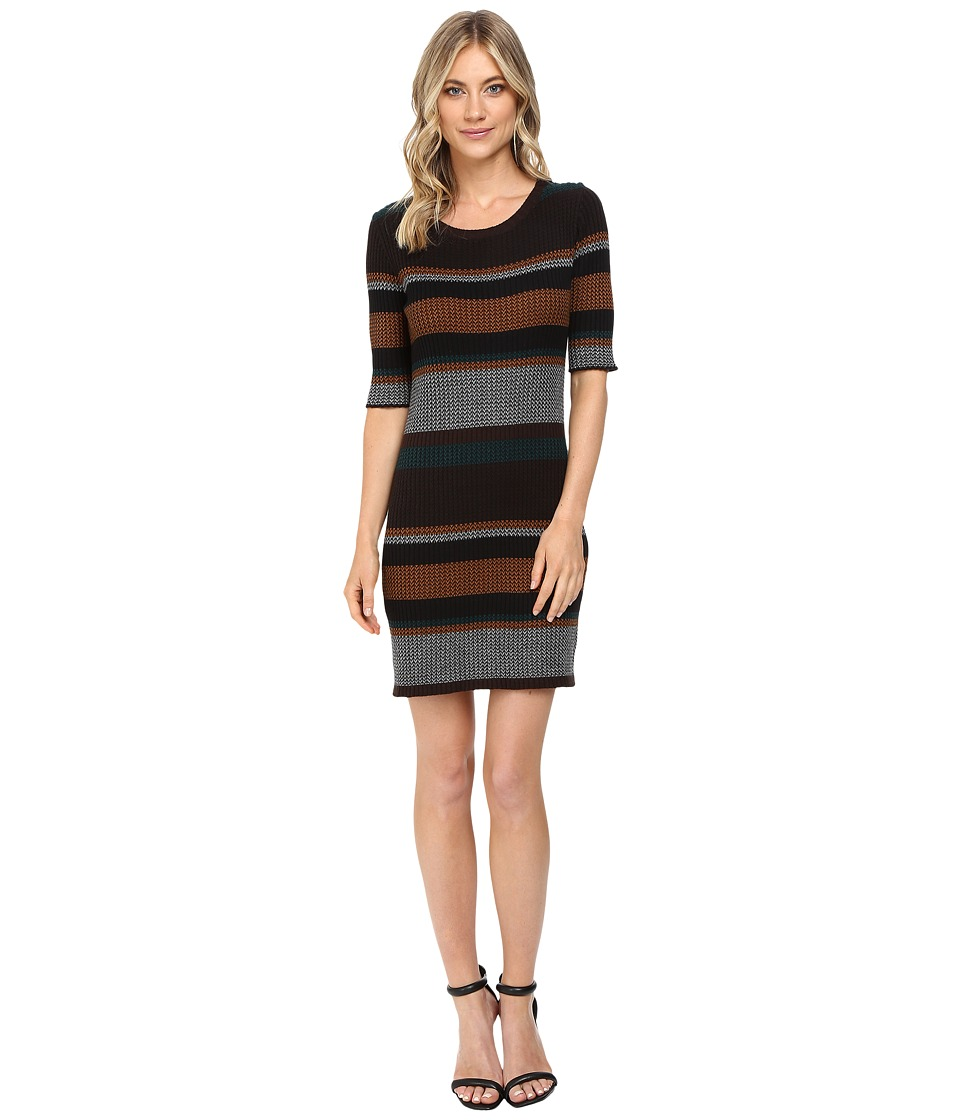 Sanctuary - Veronique Dress (Vert/Ol' Spice Stripe) Women's Dress