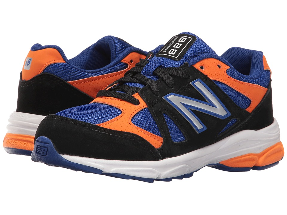 New Balance Kids - KJ888V1G (Little Kid) (Black/Blue) Boys Shoes