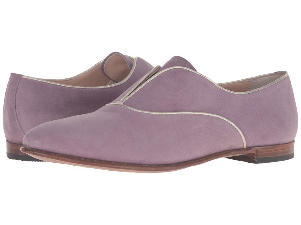 Gravati - Slip-On Laceless w/ Metallic Accent (Light Plum) Women's Slip-on Dress Shoes
