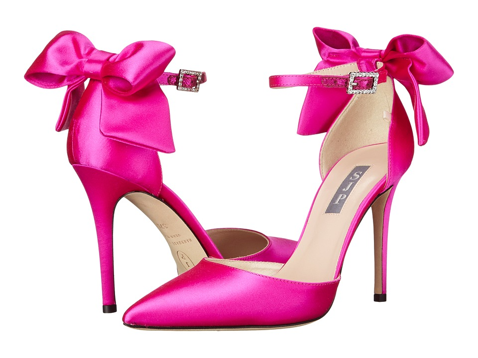 SJP by Sarah Jessica Parker - Trance (Candy Pink Satin) Women's Shoes