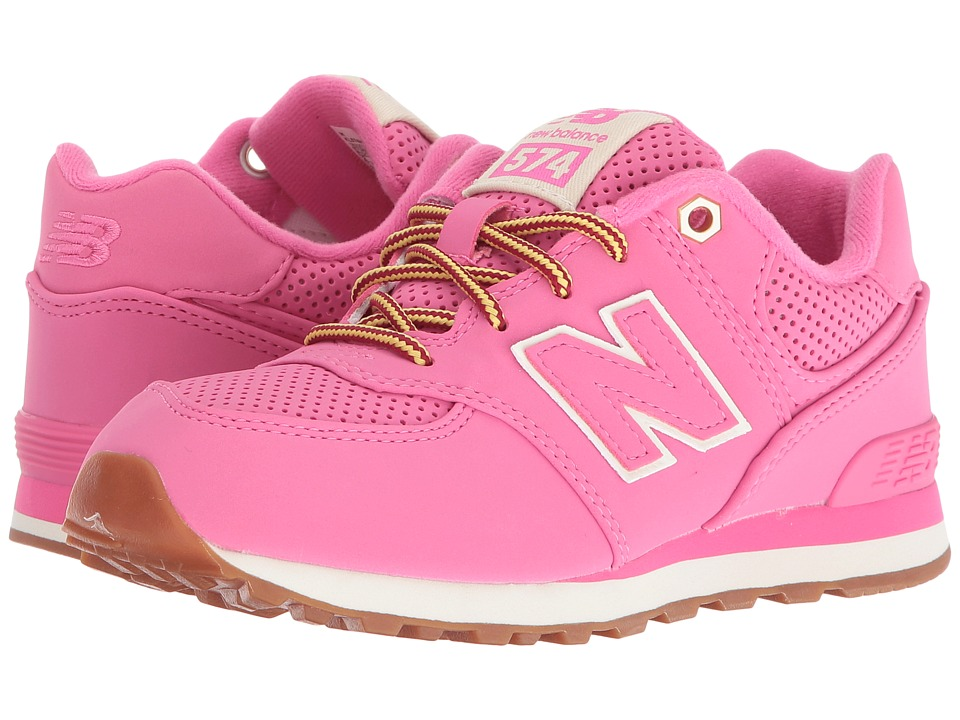 New Balance Kids - KL574v1 (Little Kid) (Pink/Pink) Girls Shoes