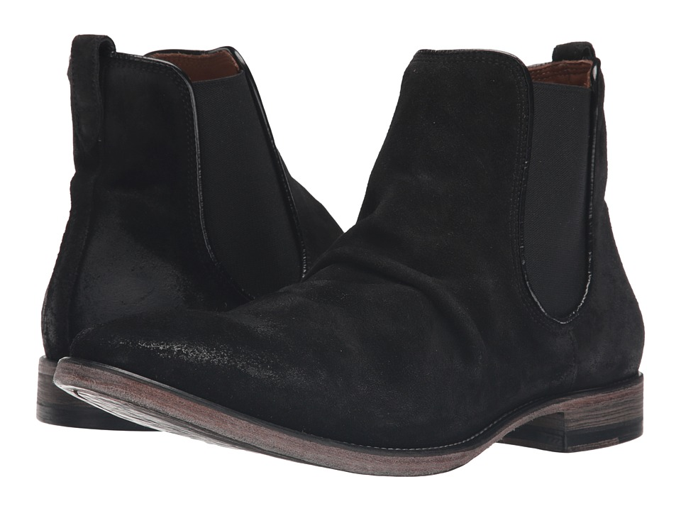 John Varvatos - Fleetwood Chelsea Boot (Black) Men's Pull-on Boots