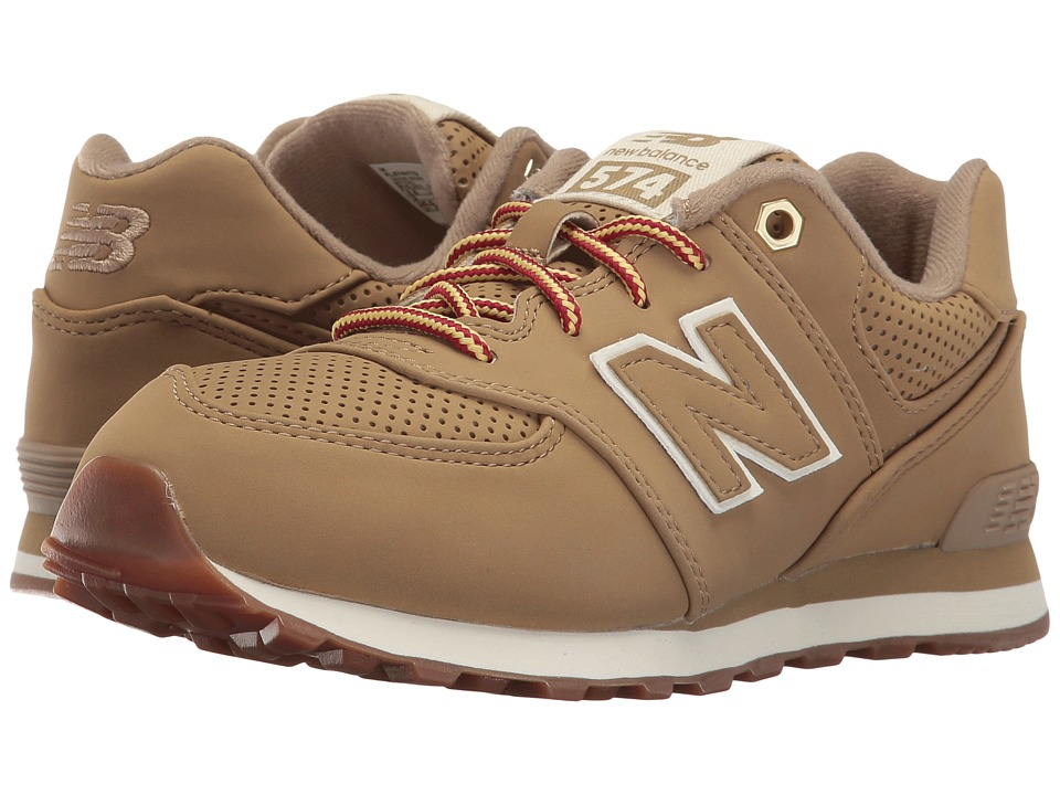 New Balance Kids - KL574v1 (Infant/Toddler) (Tan/Tan) Kids Shoes