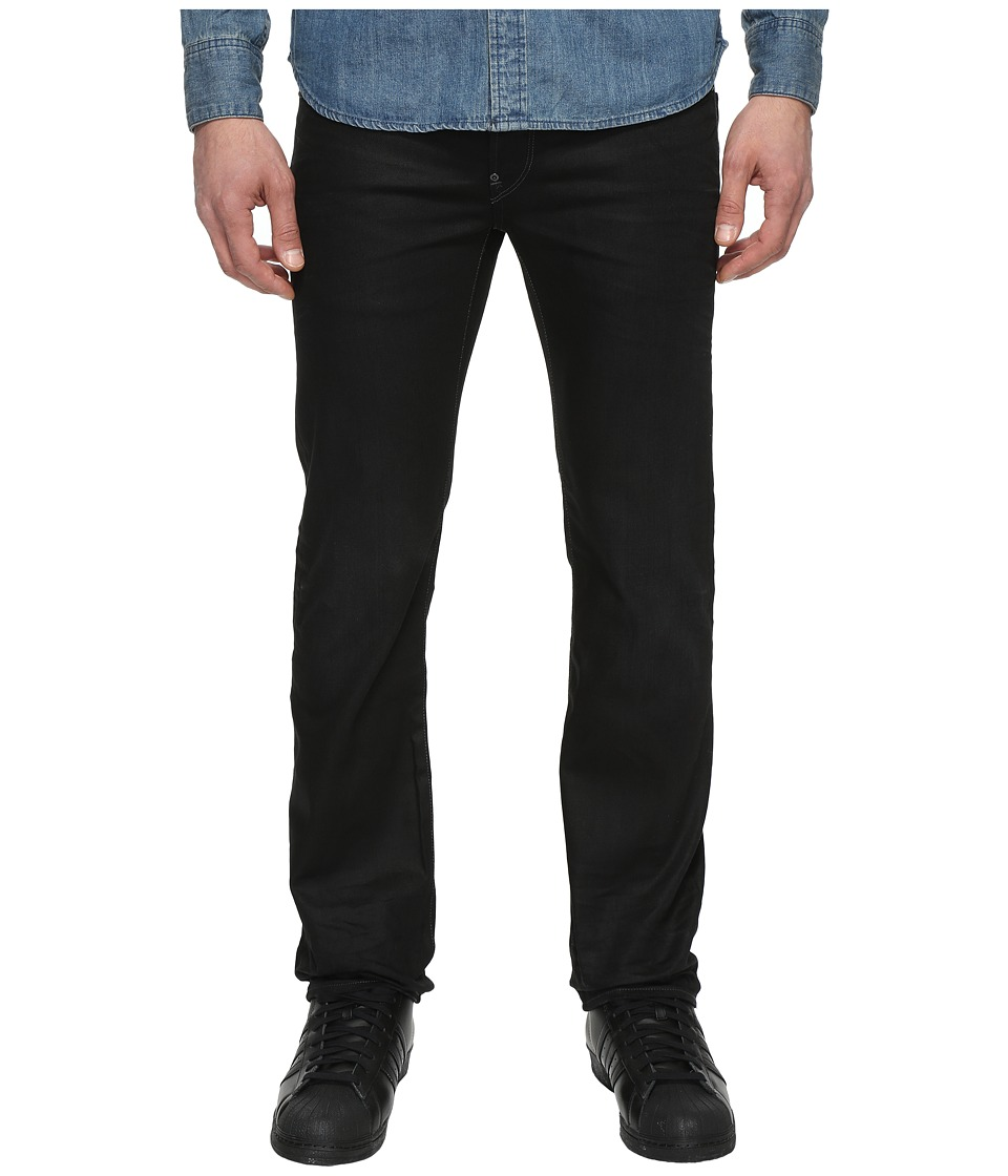 G-Star - Attacc Straight Fit Jeans in Hoist Black Denim Medium Aged (Medium Aged) Men's Jeans