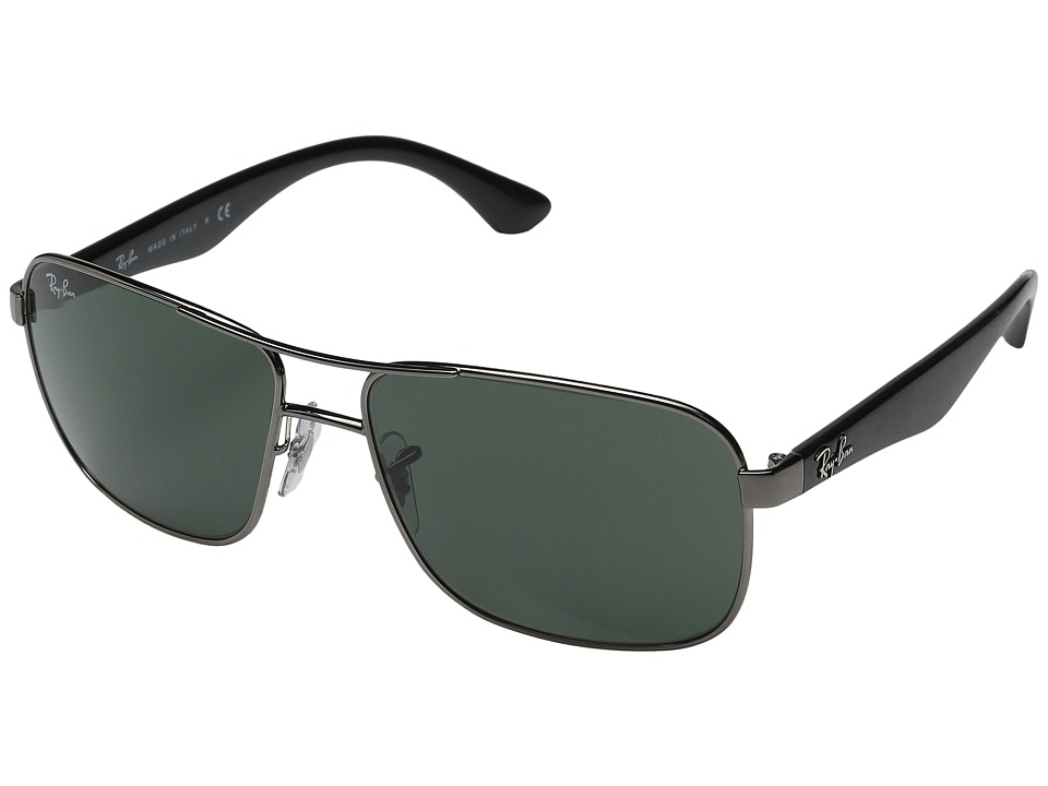 Ray-Ban - 0RB3516 (Gunmetal) Fashion Sunglasses
