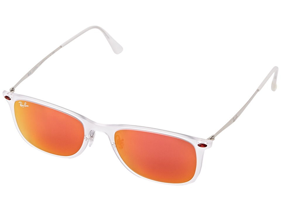 Ray-Ban - 0RB4225 (Matte Trasparent) Fashion Sunglasses