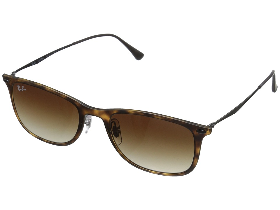 Ray-Ban - 0RB4225 (Matte Havana) Fashion Sunglasses