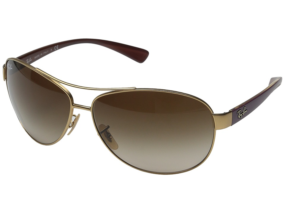 Ray-Ban - 0RB3386 (Matte Gold 1) Fashion Sunglasses