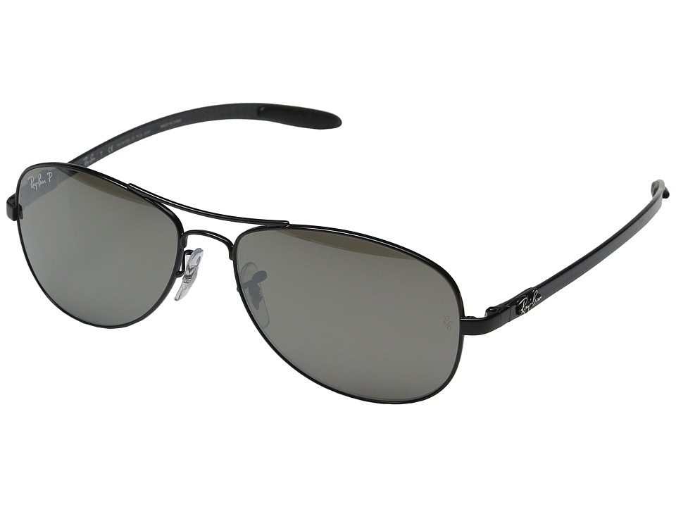 Ray-Ban - 0rb8301 (Shiny Black) Fashion Sunglasses