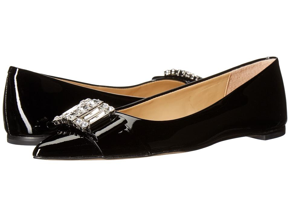 MICHAEL Michael Kors - Michelle Flat (Black Patent) Women's Flat Shoes