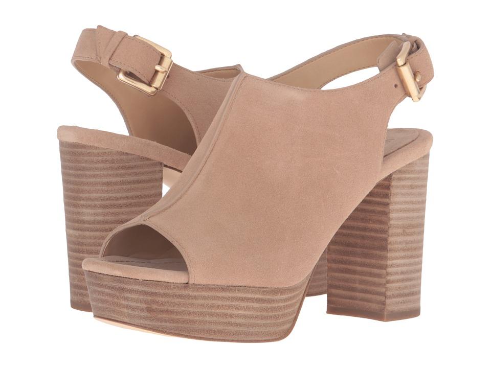 MICHAEL Michael Kors - Piper Sling (Dark Khaki Sport Suede) Women's Shoes