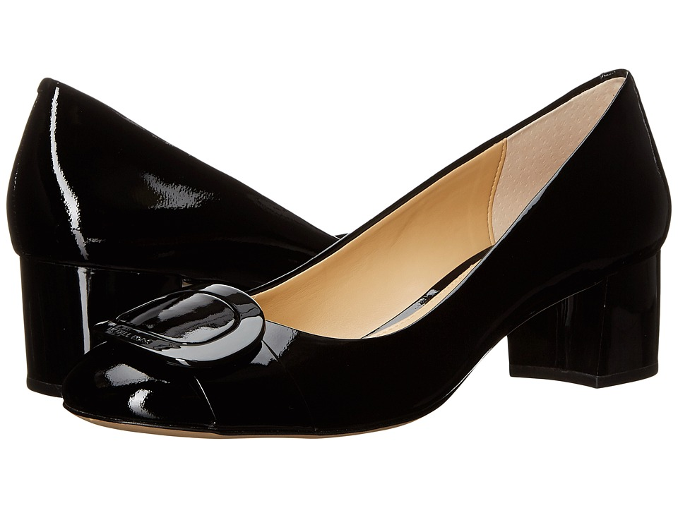 MICHAEL Michael Kors - Pauline Mid Pump (Black Patent) Women's Shoes