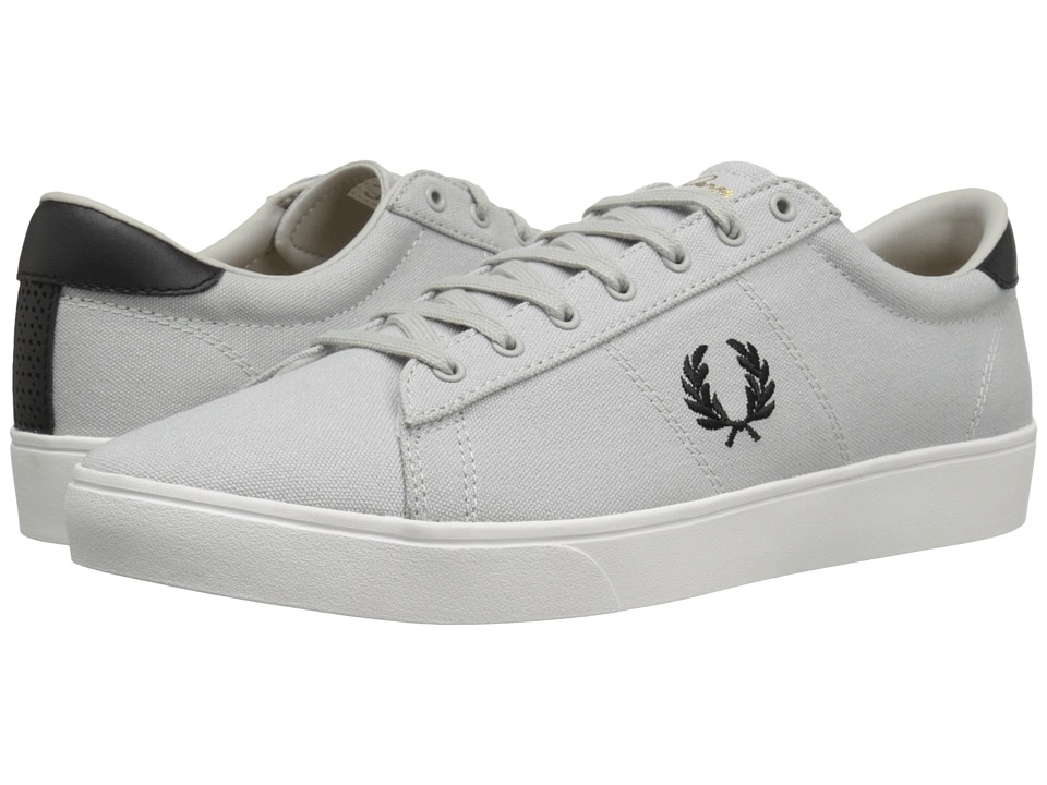 Fred Perry - Spencer Canvas (Dolphin/Black) Men's Shoes
