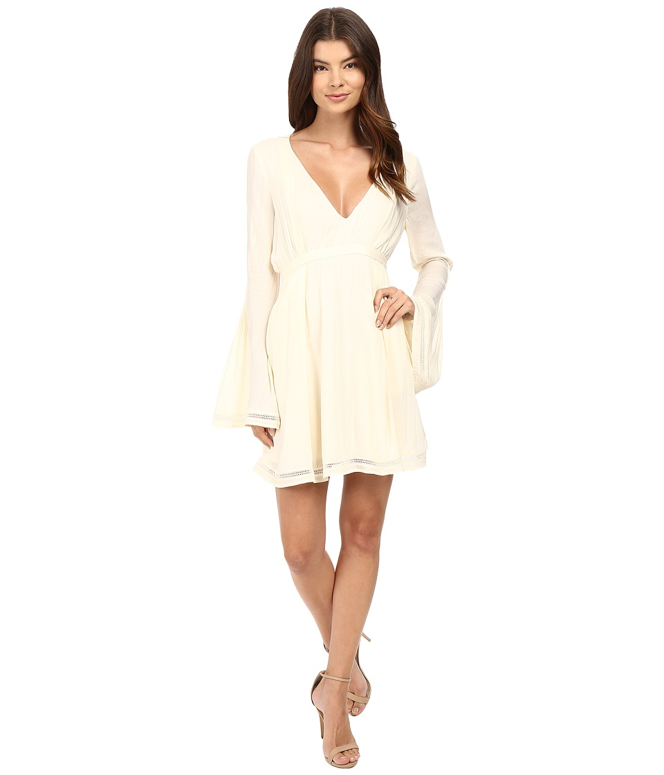 The Jetset Diaries - Empire Mini Dress (Pearl) Women's Dress