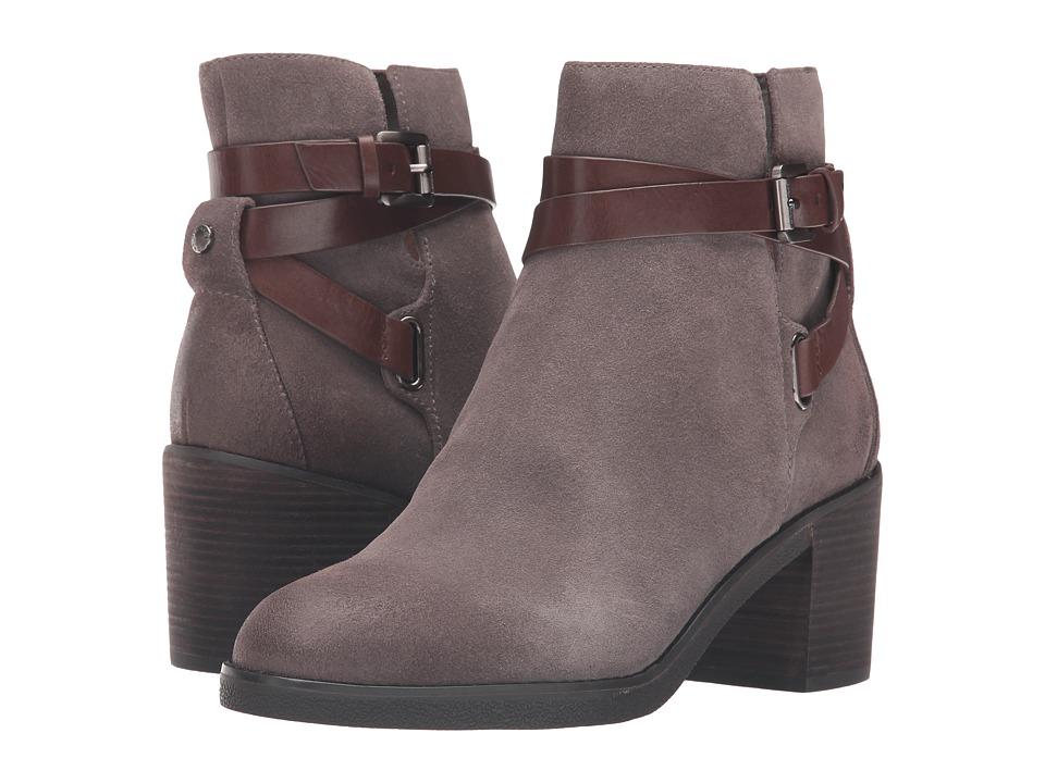 MICHAEL Michael Kors Fawn Bootie (Storm Sport Suede/Soft Cow Leather) Women