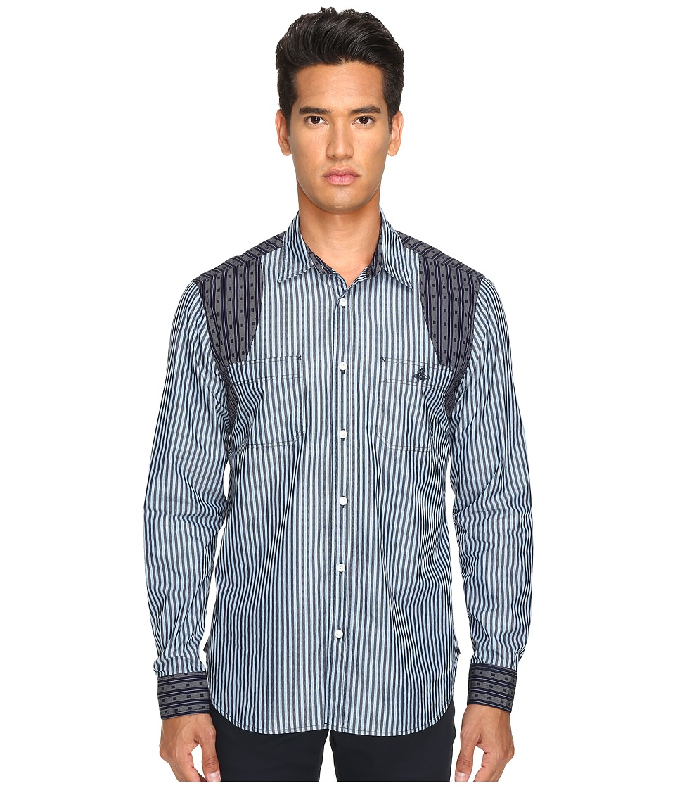 Vivienne Westwood - Anglomania Classic Shirt (Stripes) Men's Clothing