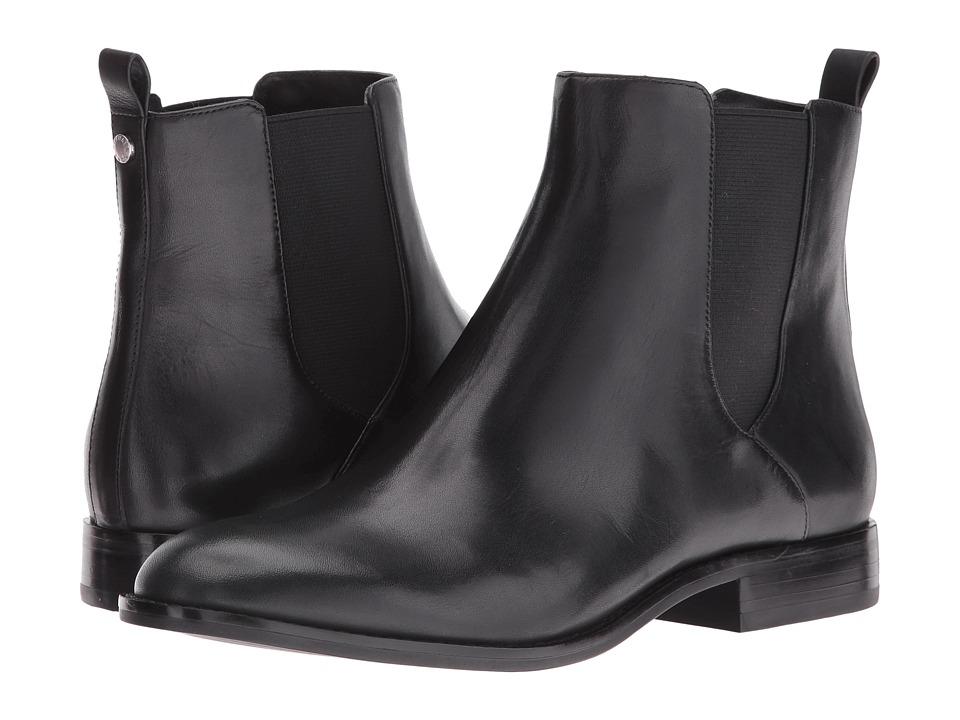 MICHAEL Michael Kors - Thea Bootie (Black Vachetta) Women's Boots