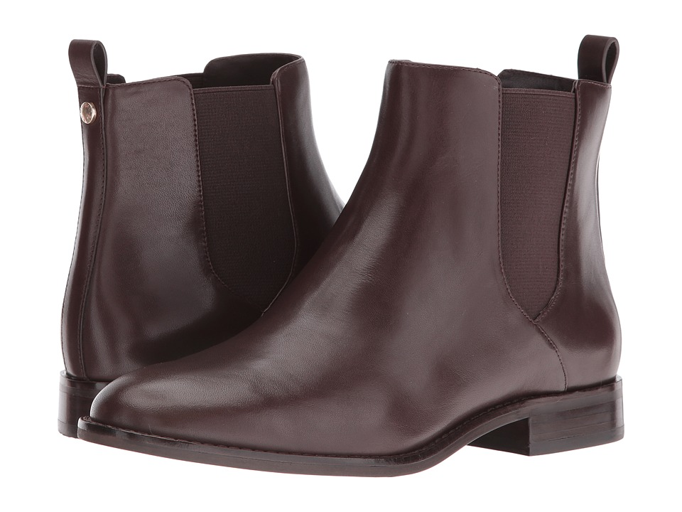 MICHAEL Michael Kors - Thea Bootie (Coffee Vachetta) Women's Boots