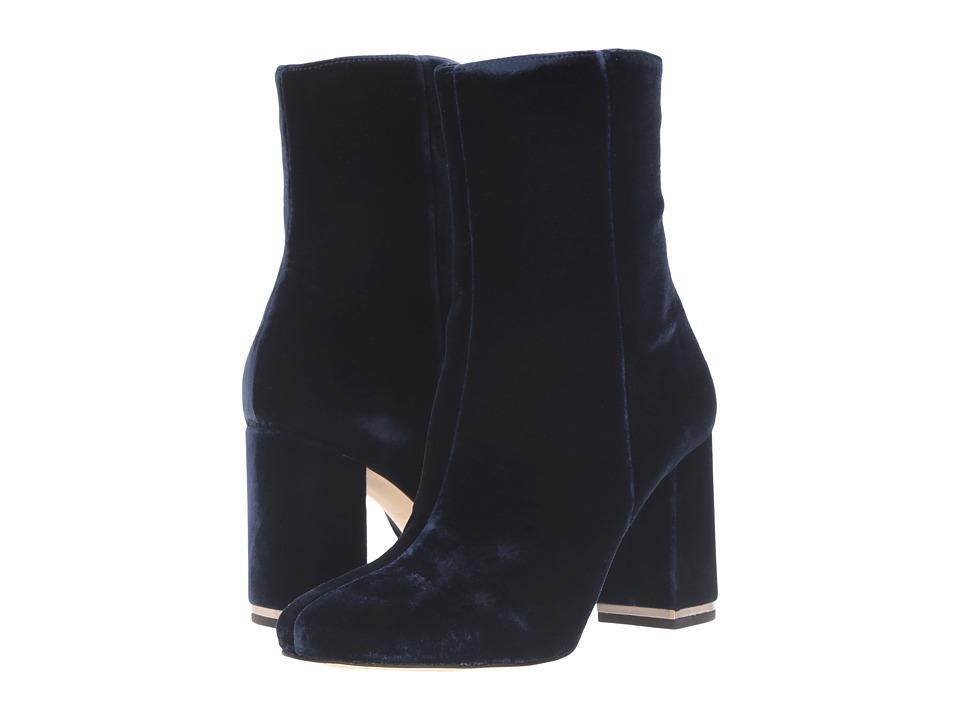 MICHAEL Michael Kors Ursula Bootie Admiral Velvet Boots