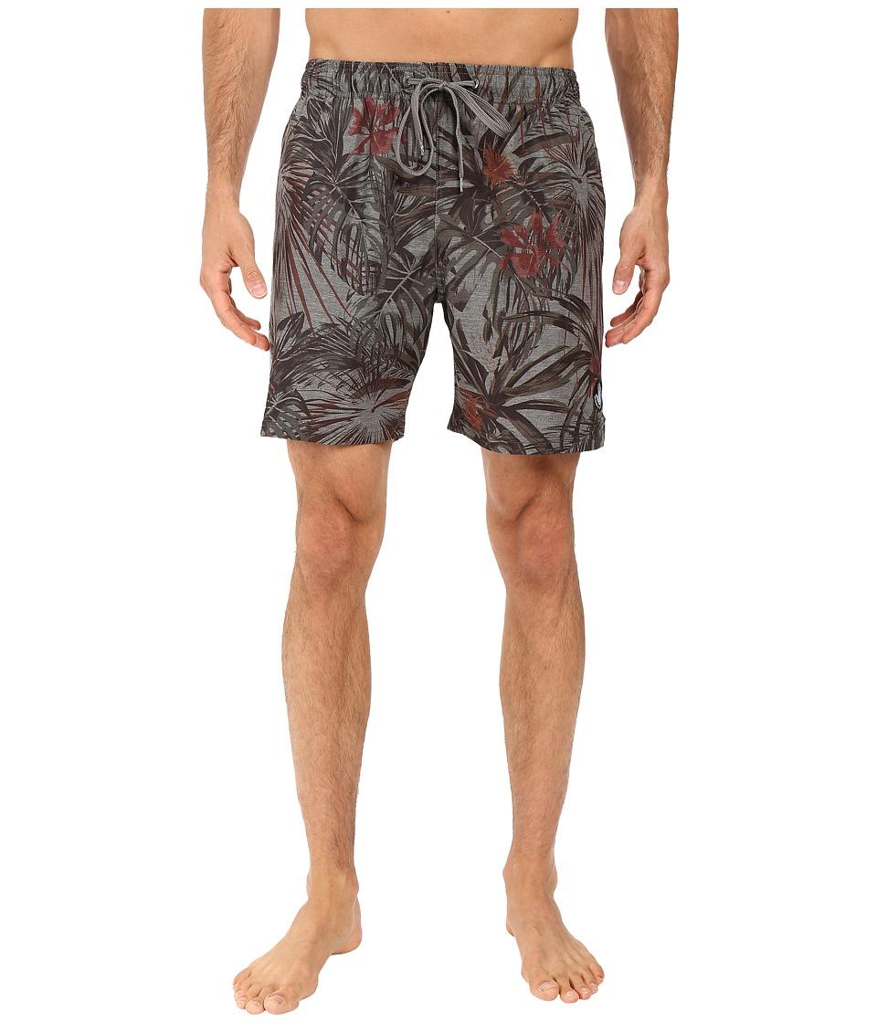 Body Glove - Gracias Volleys (Charcoal Heather) Men's Swimwear