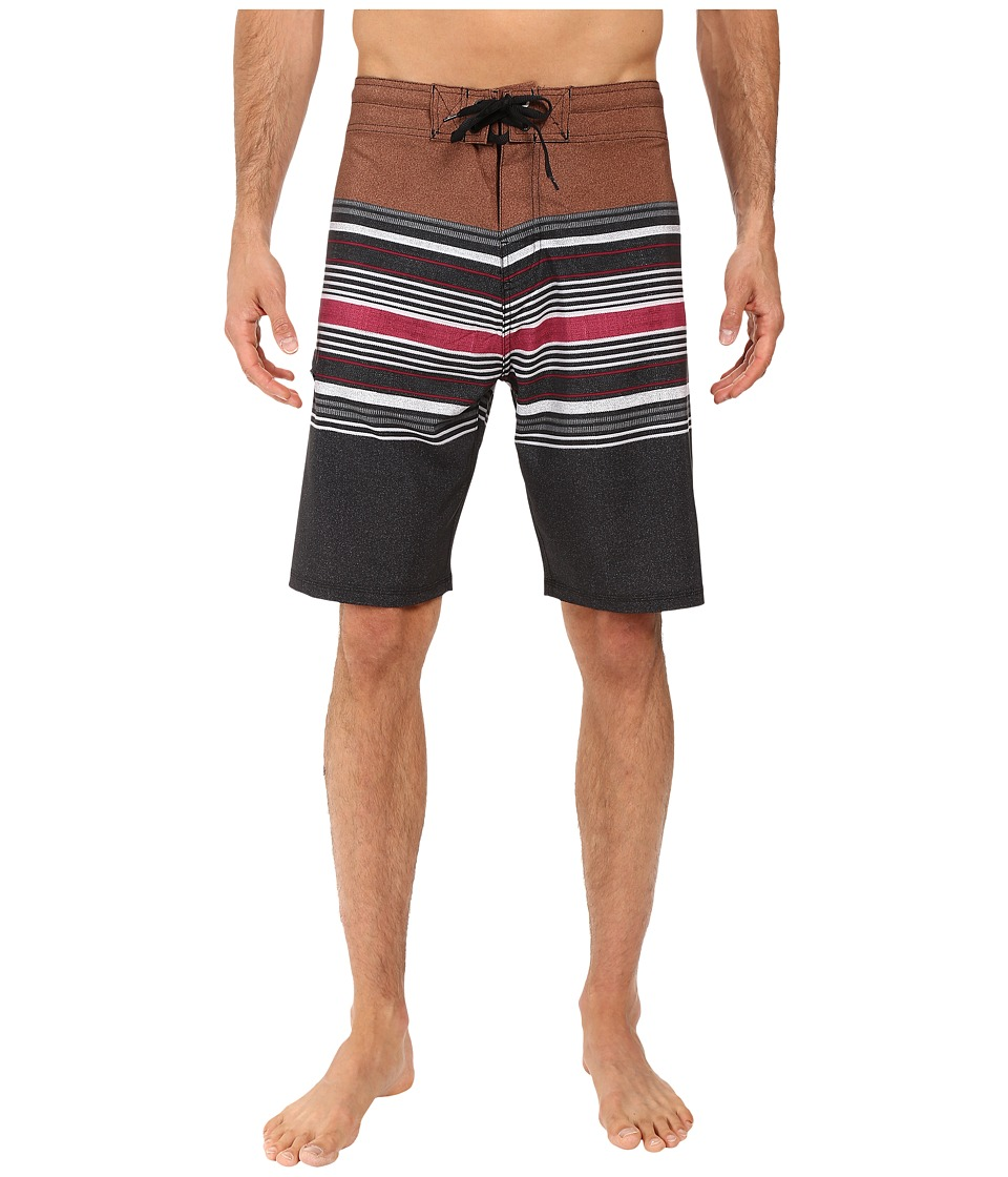 Body Glove - Vaporskin Panzer Boardshorts (Brown) Men's Swimwear