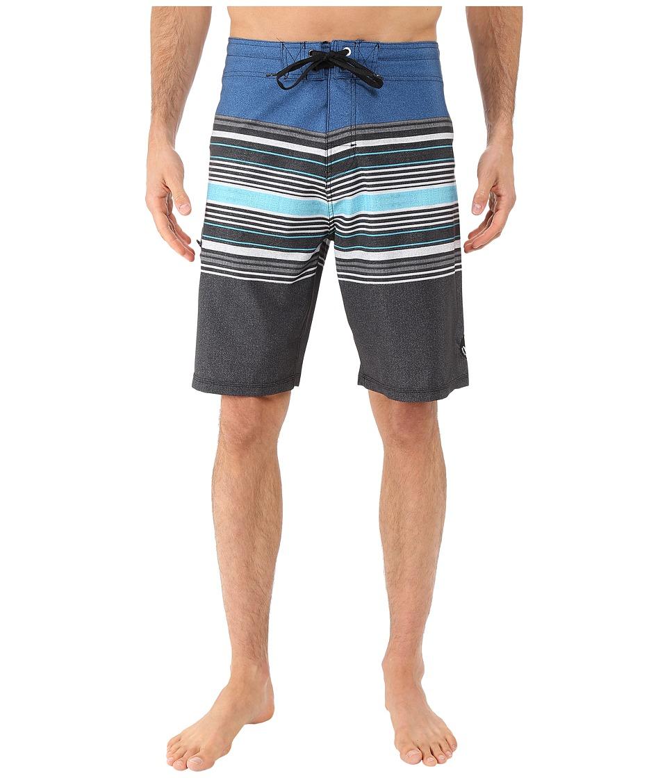 Body Glove - Vaporskin Panzer Boardshorts (Blue) Men's Swimwear