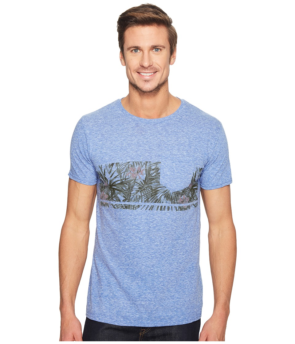 Body Glove - 47317-Power Shake Tee (Royal Snow Heather) Men's T Shirt