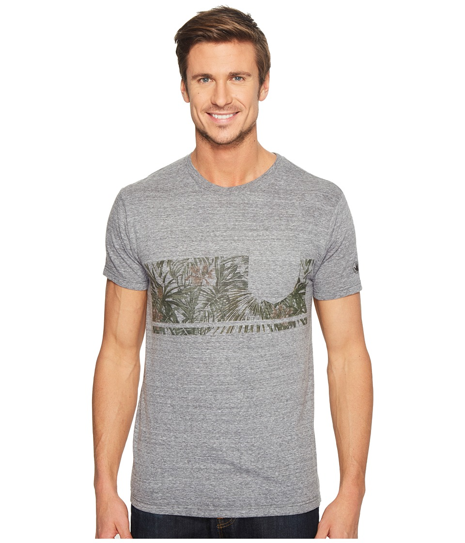 Body Glove - 47317-Power Shake Tee (Charcoal Snow Heather) Men's T Shirt