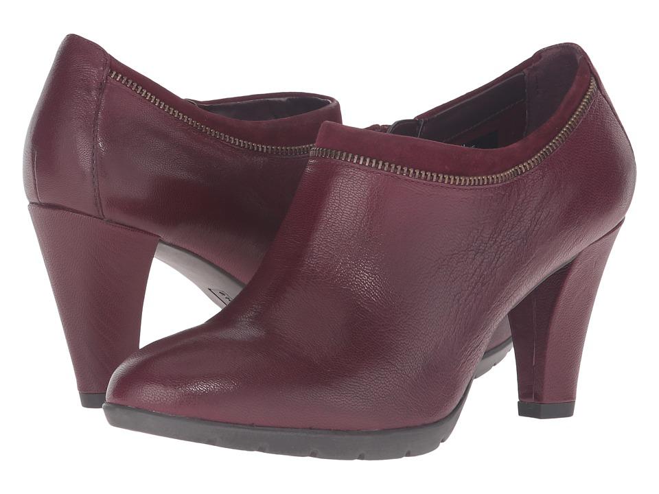 Anne Klein - Dalayne (Wine/Wine Leather) Women's Shoes