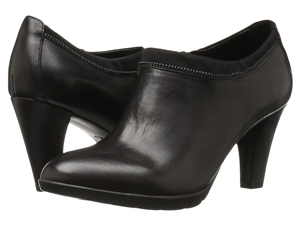 Anne Klein Dalayne (Black/Black Leather) Women
