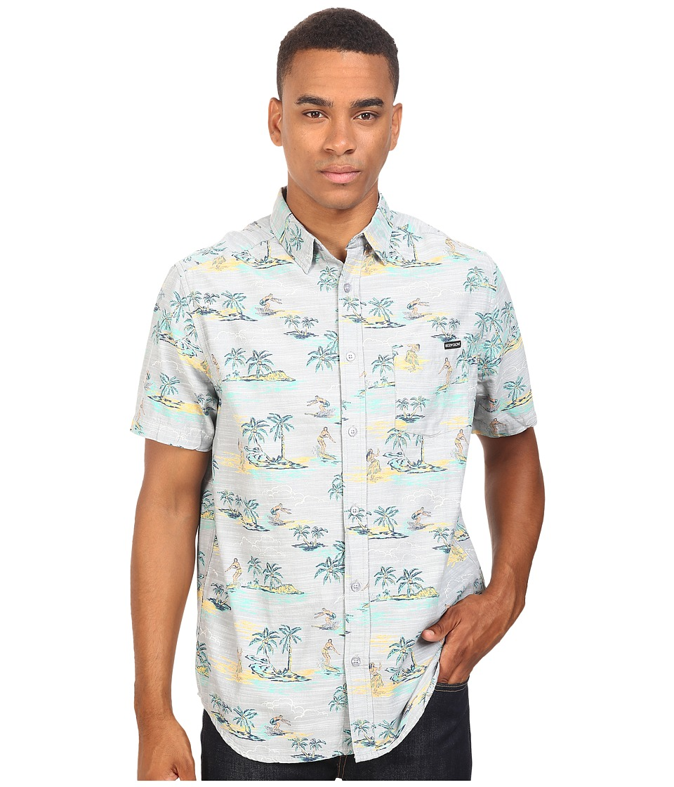 Body Glove - Beach Boy Shirt (Grey) Men's Clothing