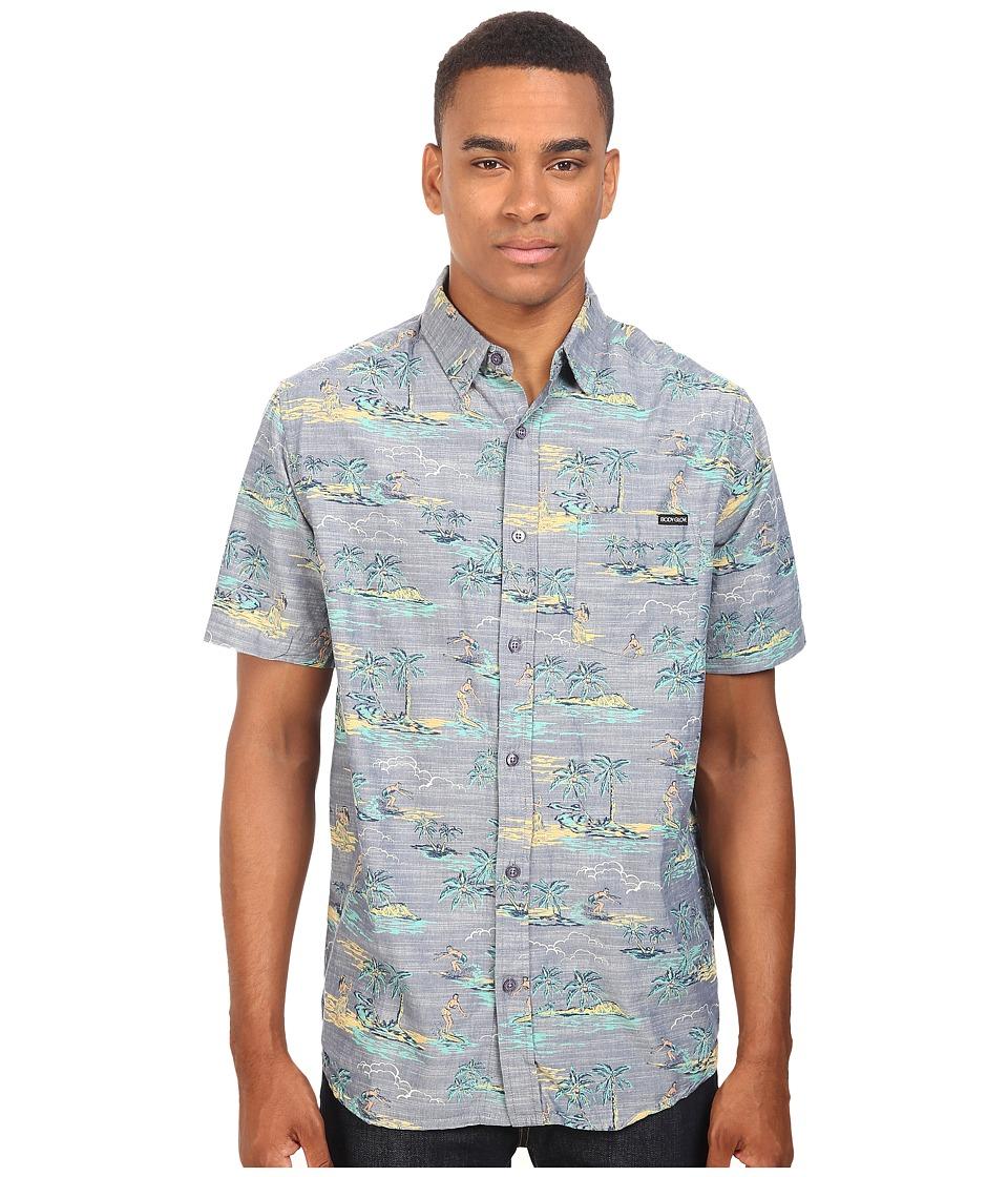 Body Glove - Beach Boy Shirt (Blue) Men's Clothing