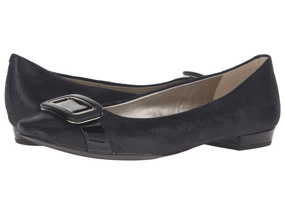 Anne Klein Elonie (Black/Black Leather Twinkle) Women