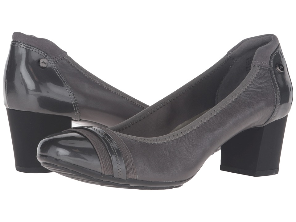Anne Klein - Guardian (Dark Grey Multi Leather) High Heels
