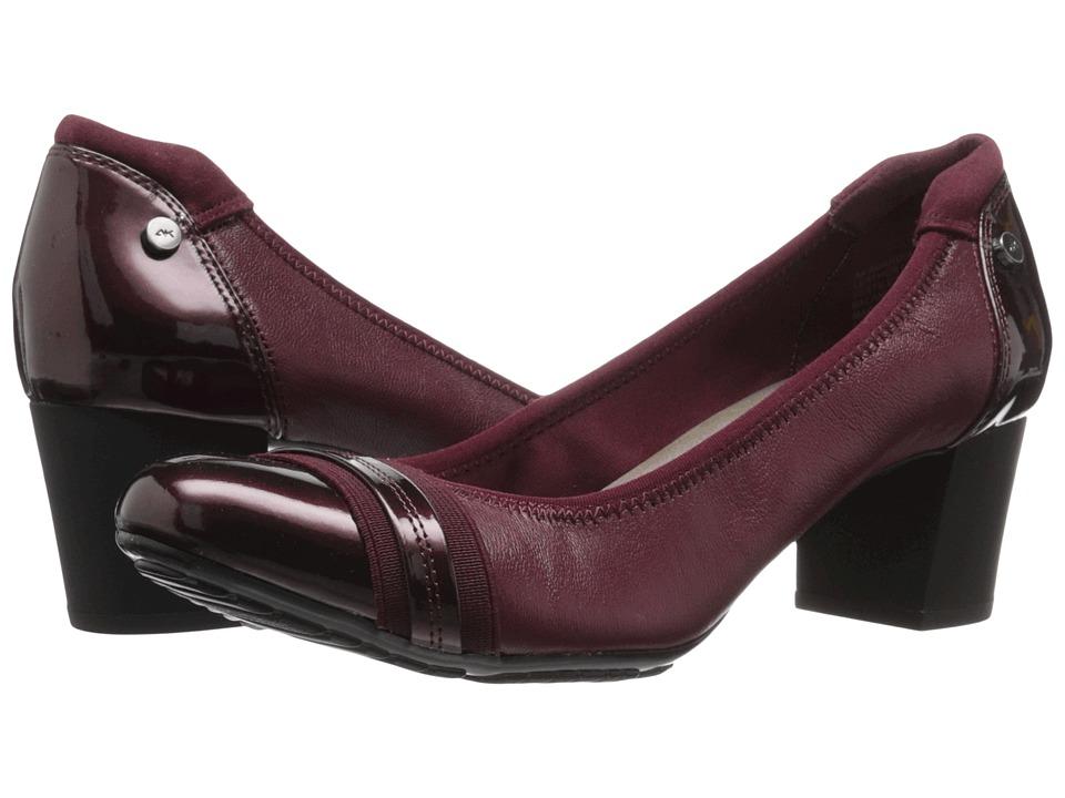 Anne Klein - Guardian (Wine Multi Leather) High Heels