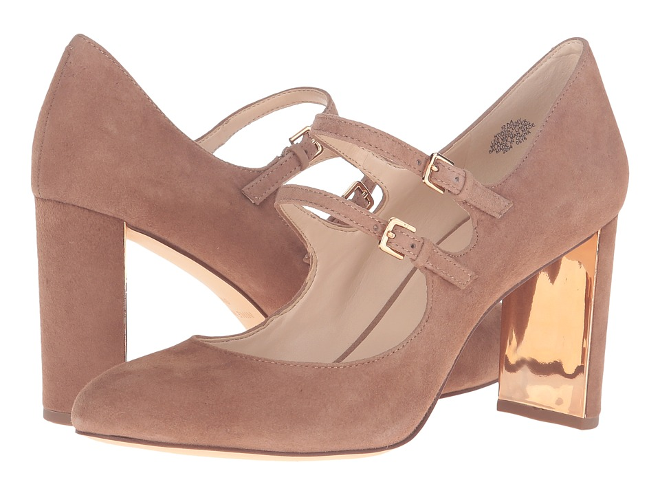 Nine West - Academy (Natural Suede) Women's Shoes