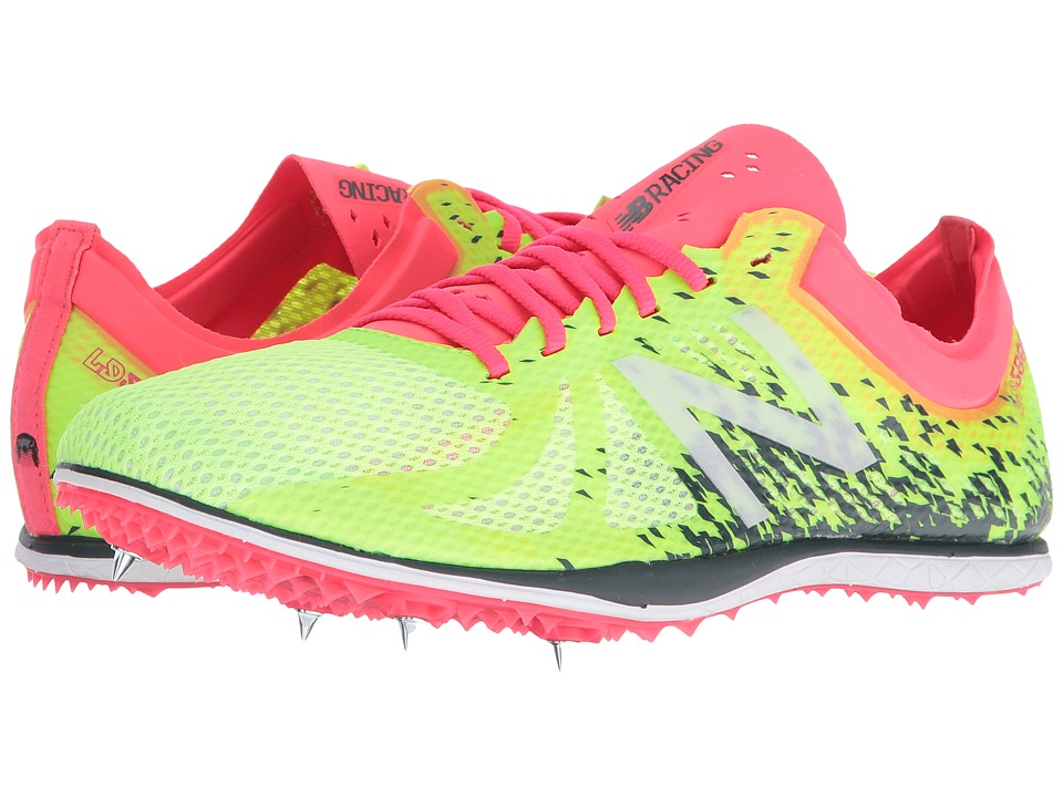 New Balance - LD500v4 Long Distance Spike (Yellow/Pink) Women's Shoes
