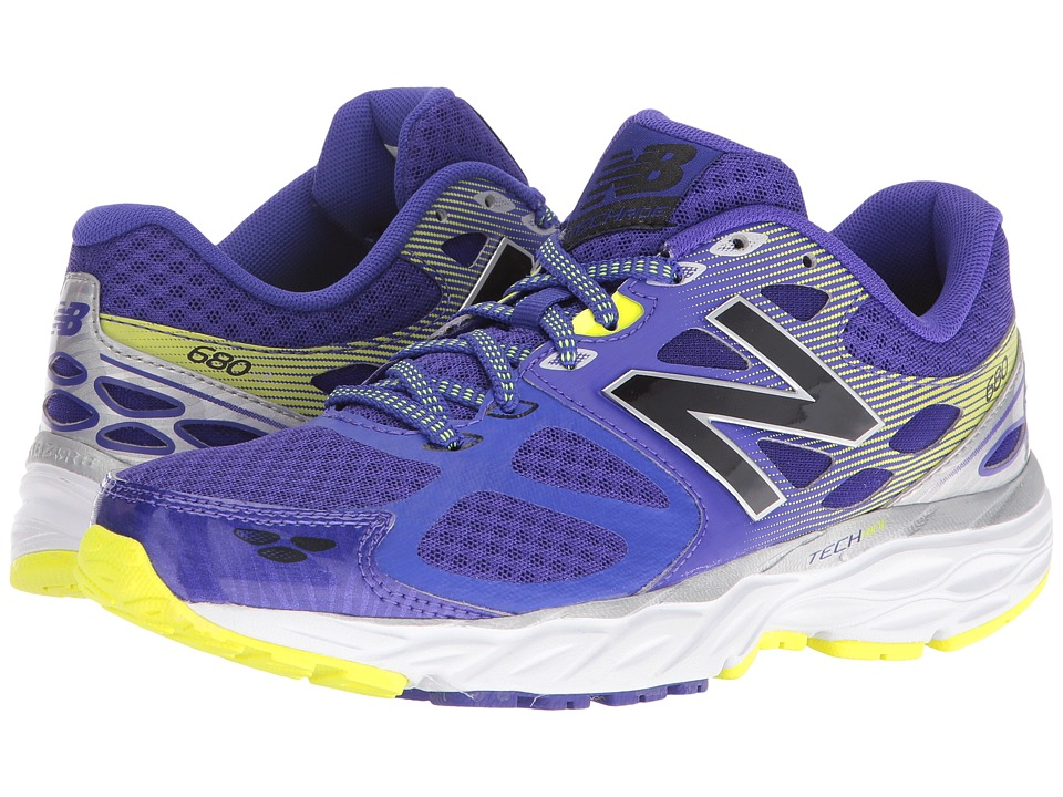 New Balance - W680v3 (Purple/Silver) Women's Running Shoes