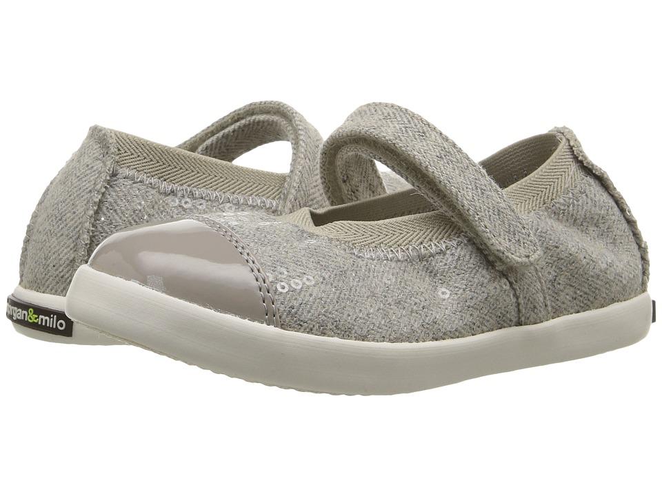 Morgan&Milo Kids - Jules Mary Jane (Toddler/Little Kid) (Grey) Girls Shoes