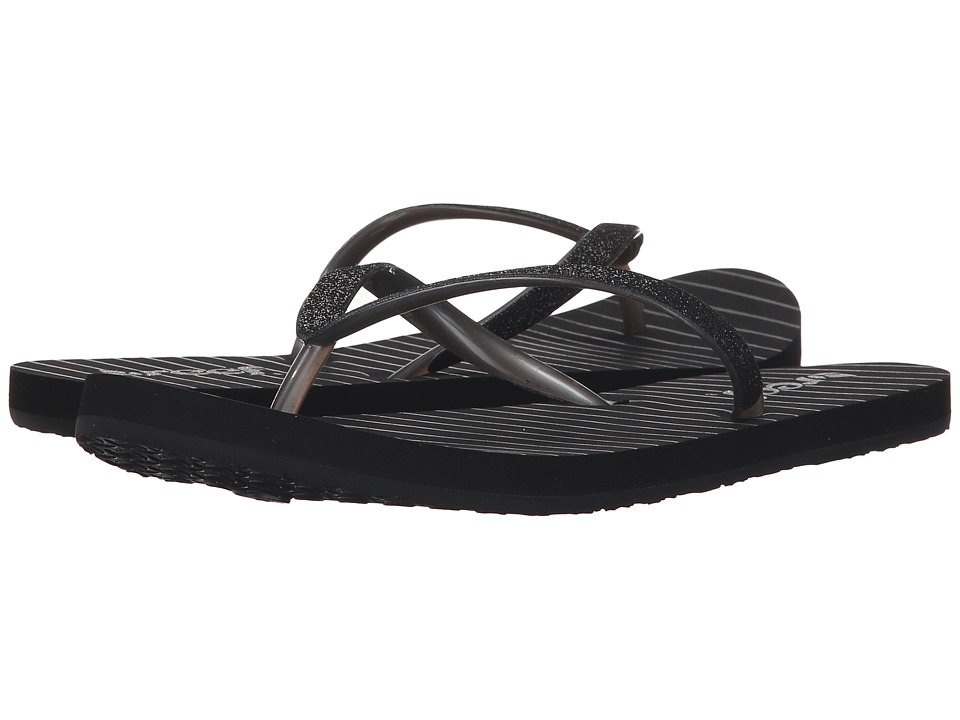 Reef - Stargazer Prints (Black/Stripes) Women's Sandals