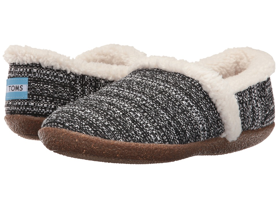 TOMS - Slipper (Black/White Boucle) Women's Slippers