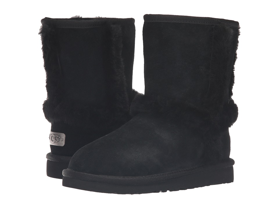 UGG Kids - Hadley (Toddler/Little Kid/Big Kid) (Black) Girls Shoes