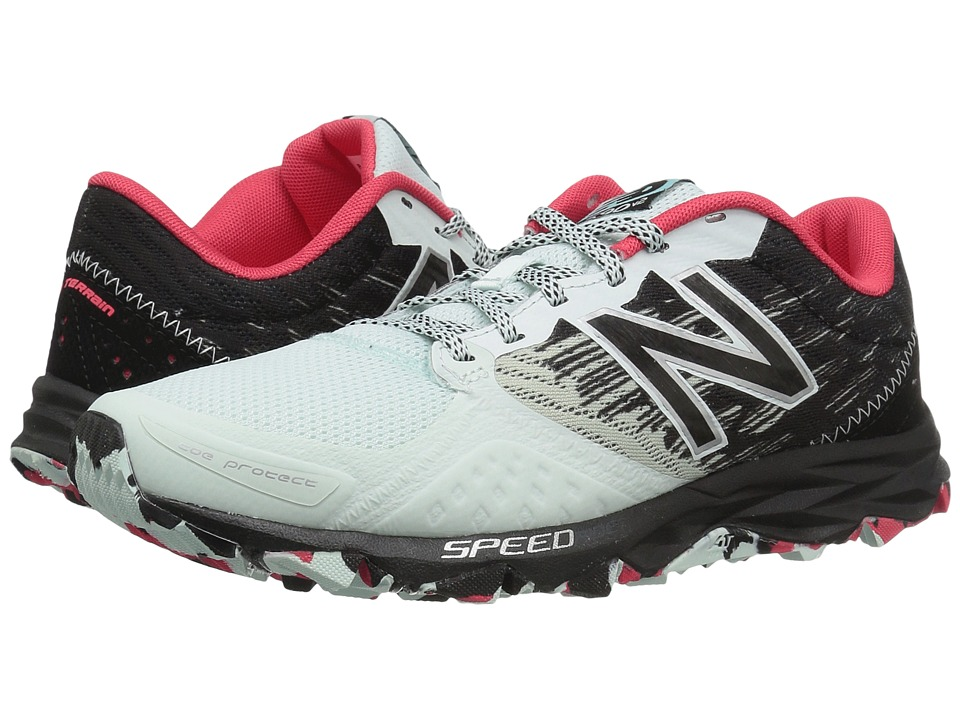 New Balance - T690v2 Speed Ride (Droplet/Black/Blossom/Guava) Women's Running Shoes